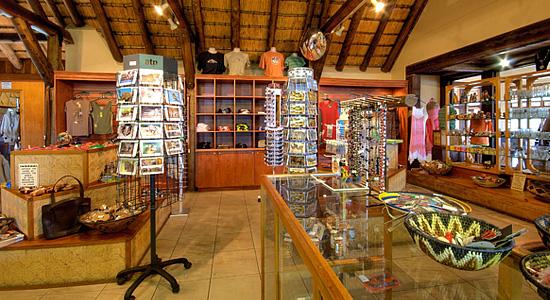 Curio Shop Hilltop Camp Hluhluwe iMfolozi Game Reserve