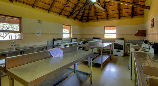 Hilltop Camp Communal Kitchen Hluhluwe iMfolozi Game Park