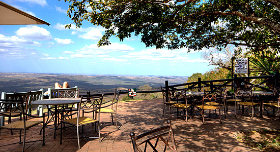 Patio View Hilltop Camp Hluhluwe iMfolozi Game Reserve