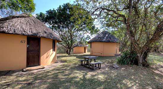 Hilltop Camp 2 Bed Rondavel Hluhluwe iMfolozi Game Park South Africa